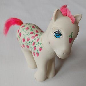 Vintage 1987 My Little Pony Sugarberry G1